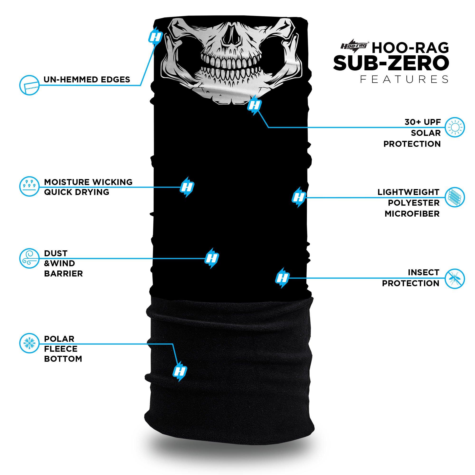 hoorag-sub-zero-skull-daddy-winter-fleece-face-mask-specification
