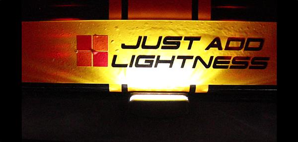 Caterham LED Rear Number Plate Light 1