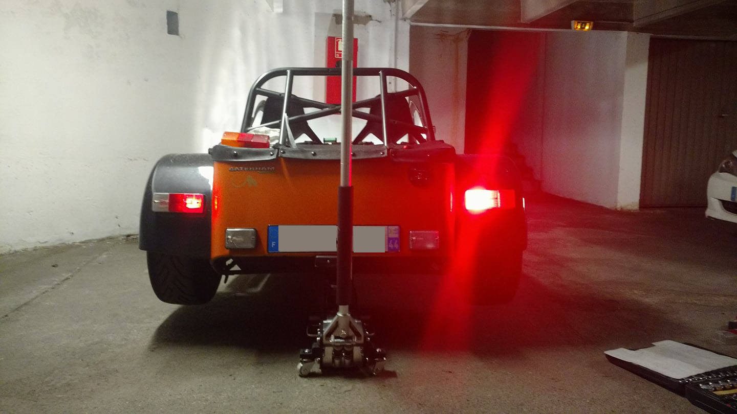 Caterham LED Rear Light Cluster MKII 6