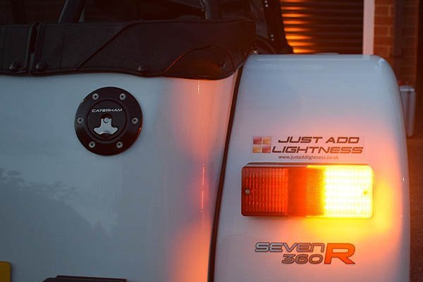 Caterham LED Rear Light Cluster MKII 4
